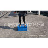 供应全新PP料塑料折叠筐 带盖的折叠周转箱 送货上门604015C1L