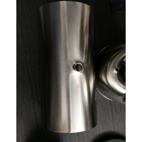 304/316L 卫生级 不锈钢 平口三通 内粗砂外亚光 哑光 天目 |医药设备|食品