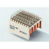 ERNI恩尼2mm背板板对板夹层垂直式公连接器923325