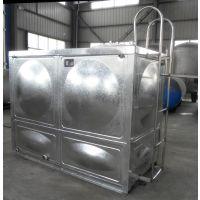 西安304不锈钢焊接水箱 户县防腐承压方形水箱 镀锌保温水箱 RJ-S77
