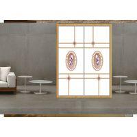 工厂直销超白彩绘衣柜玻璃移门魔幻5D、UV烤漆打印移门现代简约风格