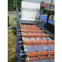 河南商丘彩钢840覆膜机金铭机械畅销设备