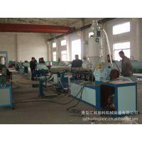 青岛汇林塑机现货供应16-630mm的PVC供排水管道生产挤出机