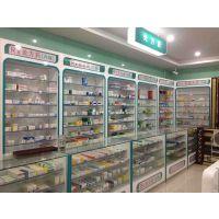 南京药店连锁展示柜定做,药店设计专家,药店展示柜批发,中药柜,西药柜