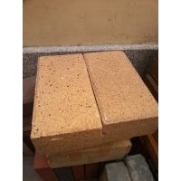 厂家直销200*100橘黄色烧结砖光面特级园林景观绿化陶土砖价格
