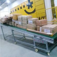 山东优质输送机 格挡式皮带运输机图片A88