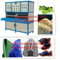 Best selling breathable athletic mesh shoes upper making machine