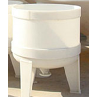 定做PP电加热反应釜搅拌釜小型塑料反应罐搅拌罐立创厂家