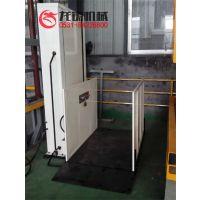 导轨式残疾人升降平台电动液压升降货梯松江厂家定制
