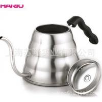 日本HARIO不锈钢咖啡壶120HSV, 哈里欧不锈钢冲泡热水壶