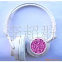 MP3耳机 新款耳机 钻石耳机  鑲钻耳机,手机
