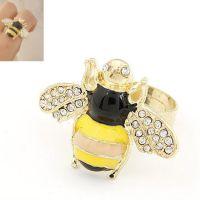欧美韩版韩国明星 时尚小蜜蜂开口戒指指环戒饰戒环饰品女