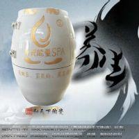 厂家批发活瓷能量汗蒸缸 景德镇负离子磁蒸瓮 陶瓷养生缸定做