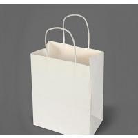 广州宣传纸袋定制 白卡纸袋定制