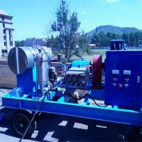 河南超洁cj-3型意大利进口高压清洗机 管道疏通机 市政管道疏通设备 280公斤170升流量电机驱动