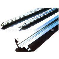 供应氮化螺杆、挤出机螺杆、注塑机螺杆、料筒螺杆