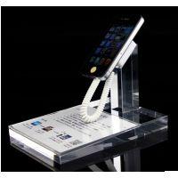 手机展示架托 体验台 支架平板防盗托架 透明亚克力底座价格牌