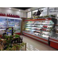 水果风幕柜展示柜超市商用冷饮奶制品冷藏保鲜柜果蔬风幕柜