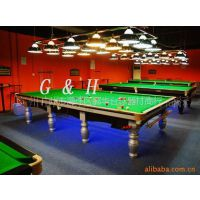 供应英式标准分体钢桌球台Snooker Table【含配件】