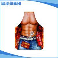 印刷订做 高品质苏州热升华纸 围裙肌肉热升华纸