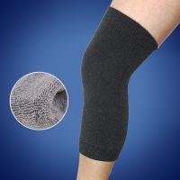 爆款羊毛护膝 冬季保暖加厚毛圈弯护膝 男女运动护腿厂家直销