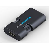 朗强lkv168 HDMI repeater 40M HDMI视频信号放大器 支持4K*2K