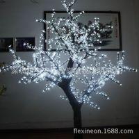 韩国畅销led树灯 led樱花树 led桃花树 售楼部 街道亮化 景观树灯