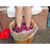 【美黛子】大量供应一次性塑料泡脚袋 足疗袋 厂家直销 65*68*100