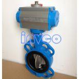 吸干机气动蝶阀//热再生吸附式干燥机//压缩热再生干燥机气动蝶阀