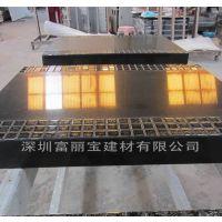 深圳石英石厂家直供新品黑色马赛克餐厅桌面 家具橱柜台面来图定制