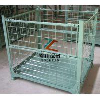 定制折叠式仓储笼 四面上下开门仓储笼 生产厂家