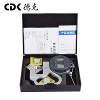 供应德克0-10数显百分测厚规,便携式设计,操作方便,测量各种板材厚度。