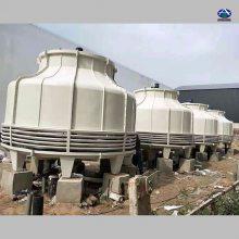 现货供应圆形逆流冷却塔 30T 双曲线型工业冷却塔 河北华强