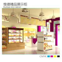 厂家订做日式蛋糕保鲜柜 直角蛋糕冷藏柜面包展示柜