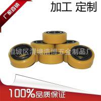 【聚氨酯包胶滚筒】聚氨酯包胶滚筒厂家定做无动力聚氨酯包胶滚筒