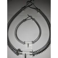供应各型号钢丝弹簧安全绳whipcheck safety cable连接绳