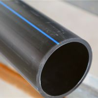 厂家批发pe给水管聚乙烯环保黑色塑料饮水管110低价多销