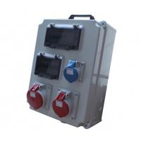 组合插座箱电源照明配电箱明装防水防尘工业插座箱IP65外壳