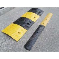 鸿宇筛网 橡胶j减速带交通设施减速板道路设备 定做