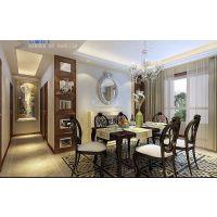 金辉世界城四室两厅欧式风格效果图案例 古典自然兼而有之!