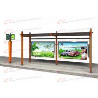 公交候车亭,rl-hct-002,候车亭厂家直销,镀锌钢板,郑州,锐珑标识