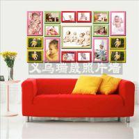 供应儿童大相框批发 组合相框墙卡通照片墙定制 义乌优质像框批发厂家