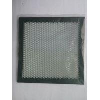 深圳中纺滤材供应铝基蜂窝光触媒功能性滤网