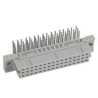 CONEC康耐母型直径2.5毫米带螺纹接口H型15针PCB连接器122E11619X