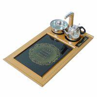 厂家批发 四合一电磁茶炉自动上水泡茶电磁炉抽水烧水壶茶具茶盘