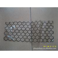 供应透明PVC防静电门帘  网格胶帘