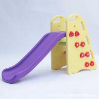 折叠式塑料滑梯 室内小滑梯儿童滑滑梯 儿童上下滑梯小型单人滑梯