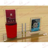 供应亚克力有机玻璃展示架,供应促销亚克力礼品,烟展架制品加工厂家