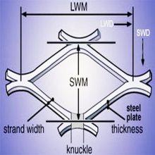 旺来菱形钢板网片 脚手架铁板网 脚踏网
