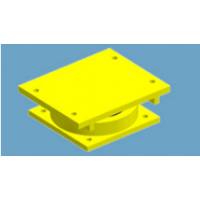 成都济通路桥供应优质盆式橡胶支座